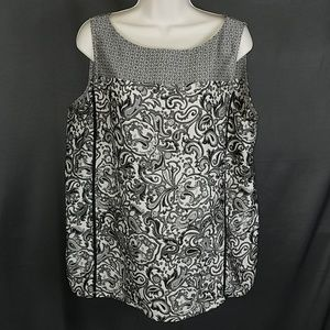 3 for $12- Large LOFT paisley blouse